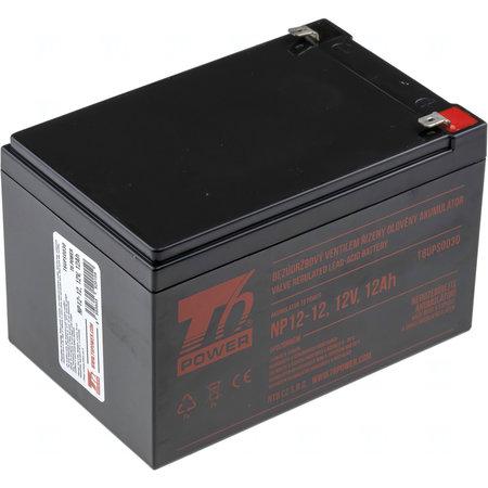 Akumulátor T6 Power NP12-12, 12V, 12Ah