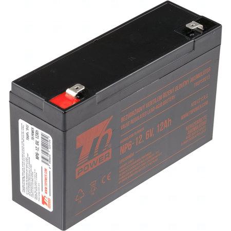 Akumulátor T6 Power NP6-12, 6V, 12Ah