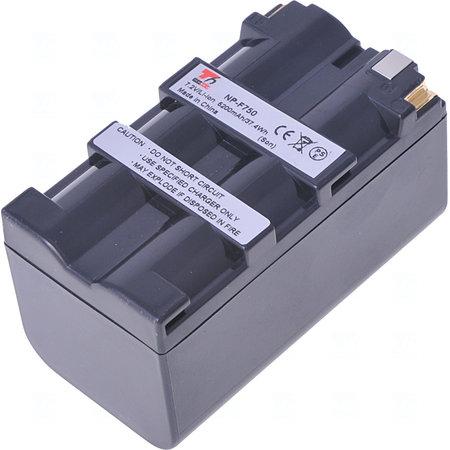 Baterie T6 power NP-F730H, NP-F750, NP-F330, NP-F530, NP-F550, NP-F570, NP-F730, NP-F770, šedá