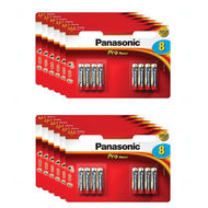 12x Baterie Panasonic PRO POWER AAA, LR03, mikrotužková, 1,5V, blistr 8 ks (1 karton)