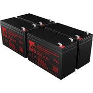 APC KIT RBC24, RBC115, RBC116, RBC132, RBC133 - baterie T6 Power
