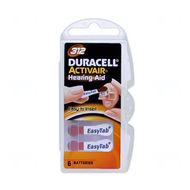 Baterie Duracell DA312, ZA312, 312A, PR312, PR41, VR312, R312, 1,45V, blistr 6 ks