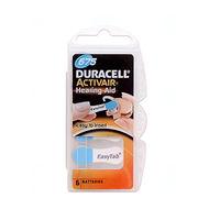 Baterie Duracell DA675, ZA675, 675A, PR675, PR44, V675, VR675, R675, 1,4V, blistr 6 ks
