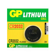 Baterie GP CR2032, DL2032, BR2032, LM2032, 3V, blistr 1ks