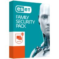 Eset Family Security Pack - Ochrana počítače pro 3 počítače a 3 mobilní zařízení pro domácnosti