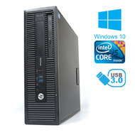 PC HP EliteDesk 800 G1 SFF Intel Core i5 4590 / 4 GB RAM / 320 GB HDD / Windows 10 / Kategorie B