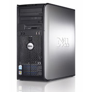 Počítač Dell OptiPlex 380 Tower Intel DualCore 2,6 GHz / 3 GB RAM / 160 GB HDD / DVD-RW / Windows 7 Professional