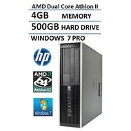 Počítač HP PRO 6005 SFF AMD Athlon X2 2,8 GHz / 4 GB RAM / 500 GB HDD / DVD / Windows 7 Professional