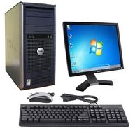 "Výhodná PC sestava Dell OptiPlex 380 Tower Intel DualCore 2,6 GHz / 3 GB RAM / 160 GB HDD / DVD-RW / Windows 7 Professional + 19"" monitor"